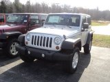 2012 Bright Silver Metallic Jeep Wrangler Sport S 4x4 #56610032