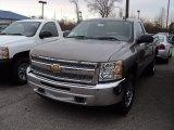 2012 Graystone Metallic Chevrolet Silverado 1500 LS Regular Cab 4x4 #56610021