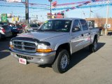 2004 Bright Silver Metallic Dodge Dakota SLT Quad Cab 4x4 #5661950