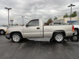 2006 Silver Birch Metallic Chevrolet Silverado 1500 Work Truck Regular Cab #56705431
