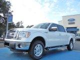 2011 White Platinum Metallic Tri-Coat Ford F150 Lariat SuperCrew 4x4 #56704822