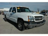 2003 Summit White Chevrolet Silverado 1500 LS Extended Cab 4x4 #56705379