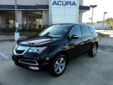 2011 Crystal Black Pearl Acura MDX Technology #56705079