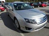 2011 Ingot Silver Metallic Ford Fusion Hybrid #56705024