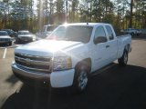2008 Summit White Chevrolet Silverado 1500 LT Extended Cab #56705301