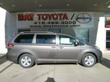 2012 Predawn Gray Mica Toyota Sienna LE #56704711