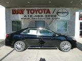 2012 Attitude Black Metallic Toyota Camry LE #56704710