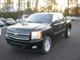 2012 Black Chevrolet Silverado 1500 LT Crew Cab 4x4 #56705295
