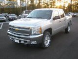 2012 Silver Ice Metallic Chevrolet Silverado 1500 LT Crew Cab 4x4 #56705293