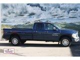 2005 Patriot Blue Pearl Dodge Ram 1500 SLT Quad Cab 4x4 #56704652