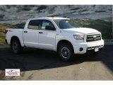 2012 Super White Toyota Tundra TRD Rock Warrior CrewMax 4x4 #56704635