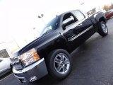 2012 Black Chevrolet Silverado 1500 LT Extended Cab 4x4 #56704941