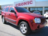 2006 Inferno Red Crystal Pearl Jeep Grand Cherokee Laredo #56704926