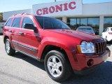 2006 Inferno Red Crystal Pearl Jeep Grand Cherokee Laredo #56704926