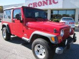 2006 Flame Red Jeep Wrangler Unlimited 4x4 #56704924