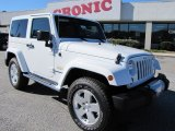 2011 Bright White Jeep Wrangler Sahara 4x4 #56704922
