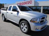 2012 Bright Silver Metallic Dodge Ram 1500 Express Quad Cab #56704920
