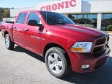 2012 Deep Cherry Red Crystal Pearl Dodge Ram 1500 Express Crew Cab 4x4 #56704919