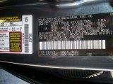 2010 Tundra Color Code for Slate Gray Metallic - Color Code: 1F9