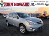 2012 Frosted Steel Nissan Rogue SV AWD #56760985