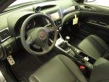 2012 Subaru Impreza WRX STi Limited 4 Door WRX Carbon Black Interior