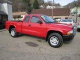2004 Flame Red Dodge Dakota SLT Club Cab 4x4 #56760975