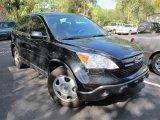 2009 Crystal Black Pearl Honda CR-V LX #56760837