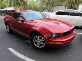 2005 Redfire Metallic Ford Mustang V6 Deluxe Coupe #56760832