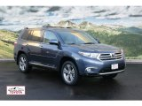 2012 Shoreline Blue Pearl Toyota Highlander Limited 4WD #56760800