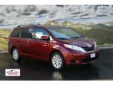 2012 Salsa Red Pearl Toyota Sienna LE AWD #56760799