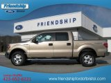 2011 Pale Adobe Metallic Ford F150 XLT SuperCrew 4x4 #56780714
