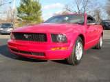 2007 Torch Red Ford Mustang V6 Premium Convertible #56780740