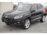 2012 Volkswagen Tiguan Deep Black Metallic