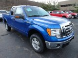 2011 Blue Flame Metallic Ford F150 XLT SuperCab 4x4 #56780727