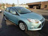 2012 Frosted Glass Metallic Ford Focus SE 5-Door #56780724