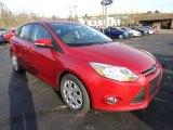 2012 Red Candy Metallic Ford Focus SE 5-Door #56780723