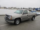2003 Light Pewter Metallic Chevrolet Silverado 1500 LS Regular Cab #56789718