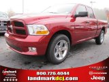 2012 Deep Cherry Red Crystal Pearl Dodge Ram 1500 Express Quad Cab #56789312