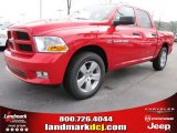 2012 Flame Red Dodge Ram 1500 Express Crew Cab #56789308