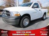 2011 Bright White Dodge Ram 1500 ST Regular Cab #56789294