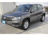 2012 Volkswagen Tiguan Pepper Gray Metallic