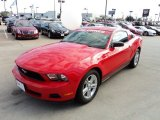 2011 Race Red Ford Mustang V6 Coupe #56789488