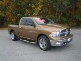 2011 Saddle Brown Pearl Dodge Ram 1500 Big Horn Quad Cab #56789671