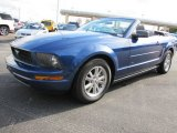 2006 Vista Blue Metallic Ford Mustang V6 Premium Convertible #56789654