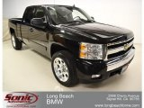 2007 Black Chevrolet Silverado 1500 LT Extended Cab #56789435