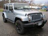 2012 Jeep Wrangler Unlimited Winter Chill Metallic