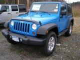 2012 Cosmos Blue Jeep Wrangler Sport S 4x4 #56789181