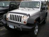2012 Bright Silver Metallic Jeep Wrangler Sport S 4x4 #56789180
