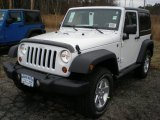 2012 Bright White Jeep Wrangler Sport S 4x4 #56789176