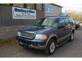 2003 Medium Wedgewood Blue Metallic Ford Explorer Eddie Bauer 4x4 #56789403